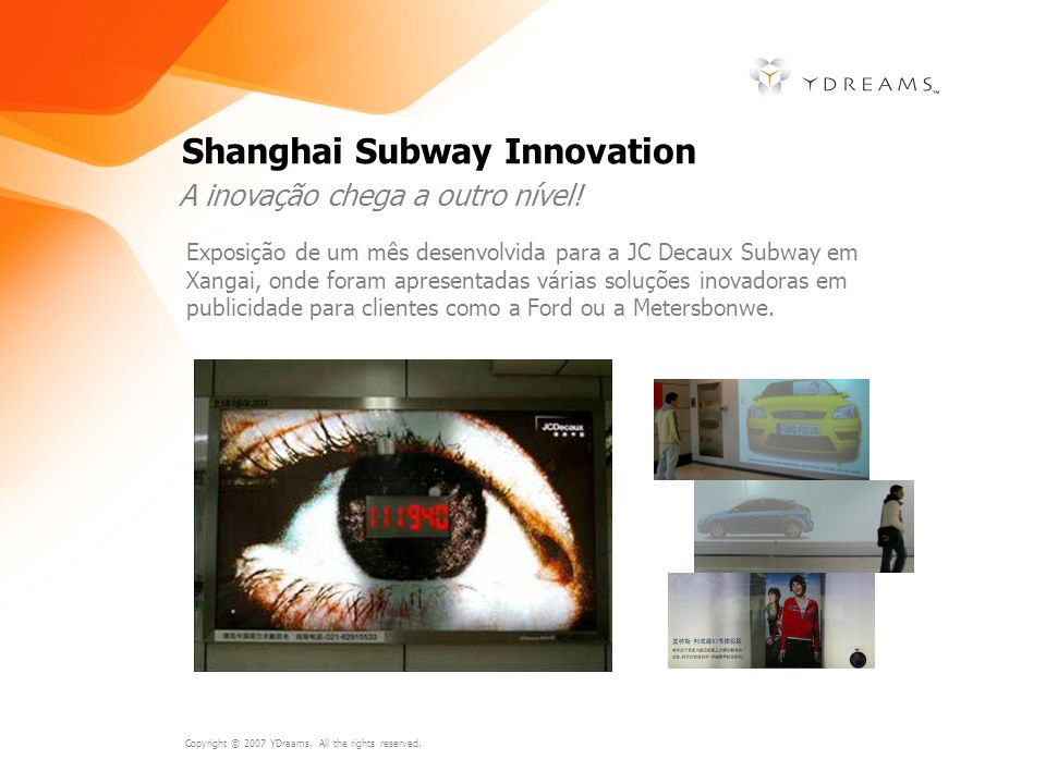 Shanghai Subway Innovation