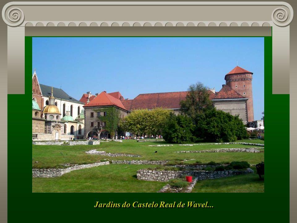 Jardins do Castelo Real de Wavel...