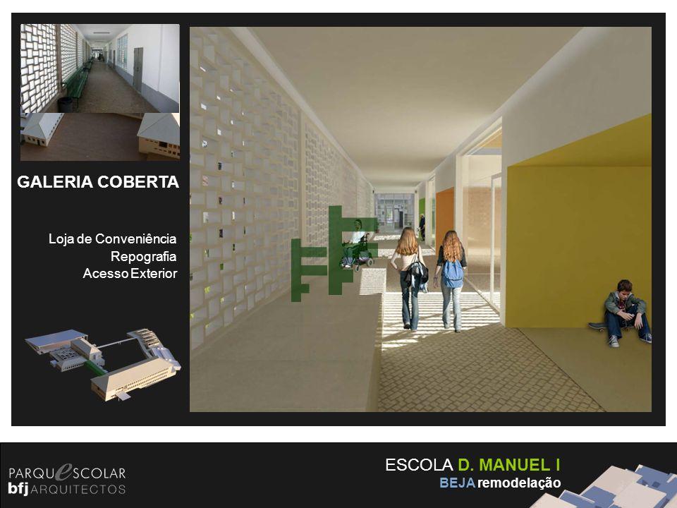 GALERIA COBERTA ESCOLA D. MANUEL I Loja de Conveniência Repografia