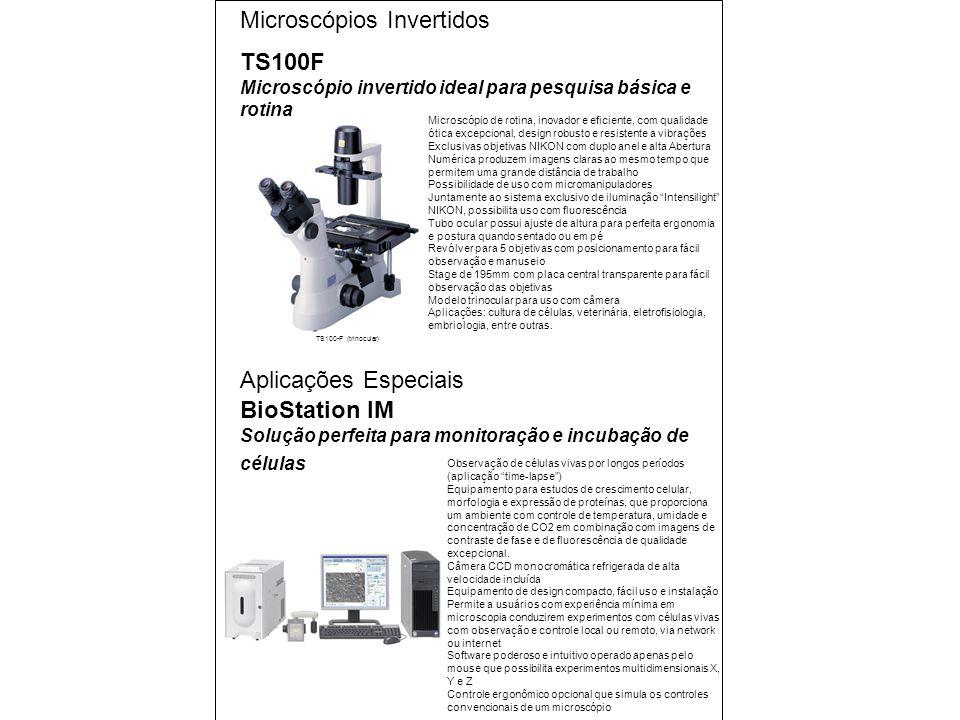 Microscópios Invertidos
