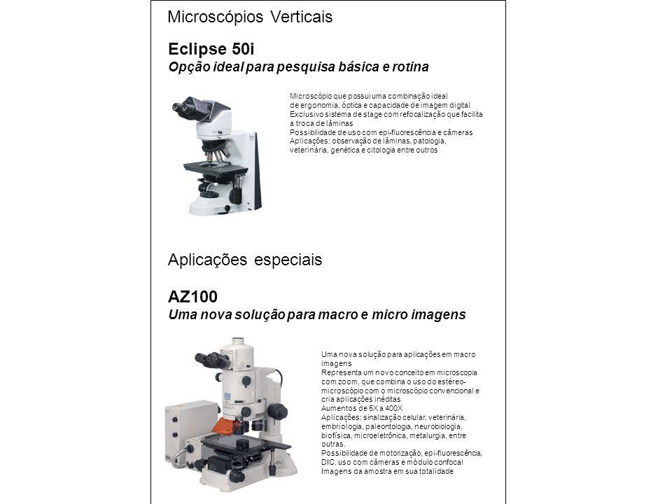 Microscópios Verticais