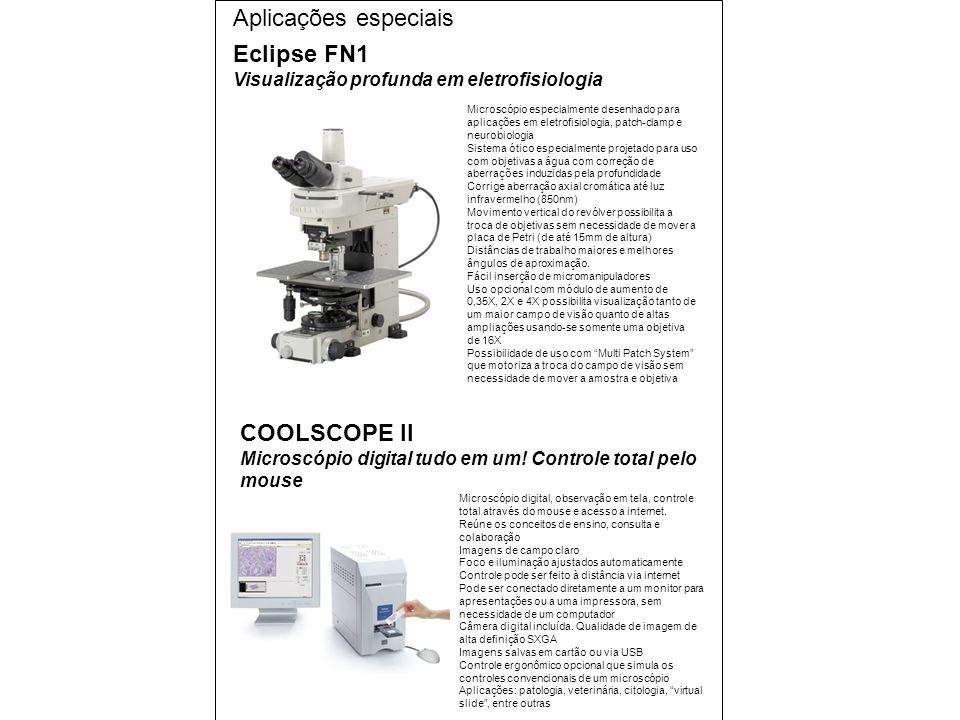 Eclipse FN1 Visualização profunda em eletrofisiologia