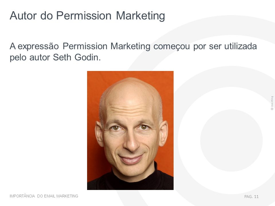 Autor do Permission Marketing