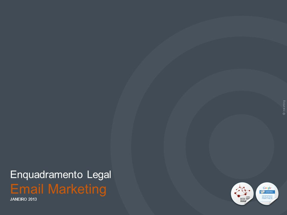 Enquadramento Legal Email Marketing