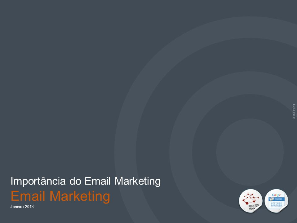 Importância do Email Marketing Email Marketing