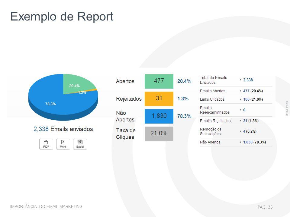 Exemplo de Report