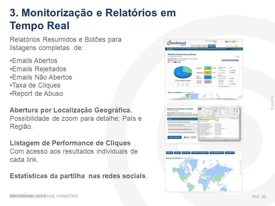 3. Monitorização e Relatórios em Tempo Real
