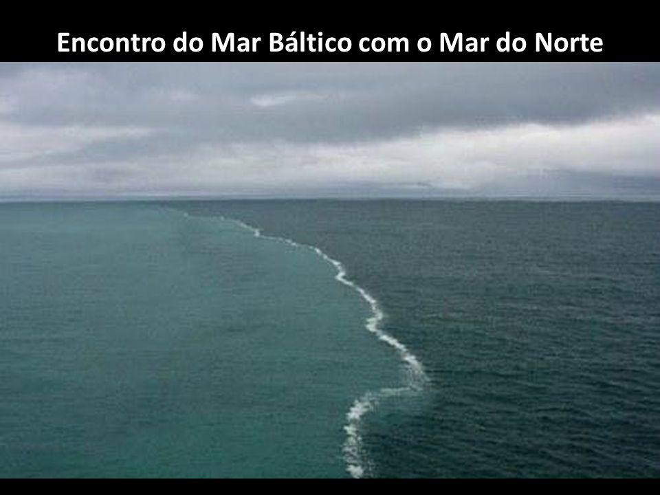 Encontro do Mar Báltico com o Mar do Norte