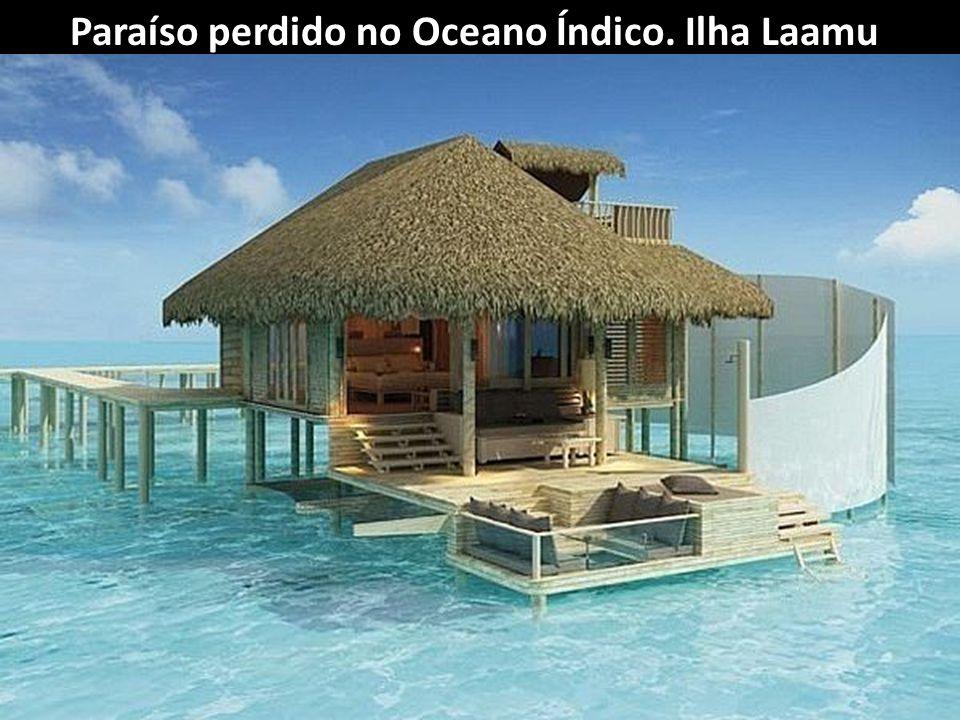 Paraíso perdido no Oceano Índico. Ilha Laamu