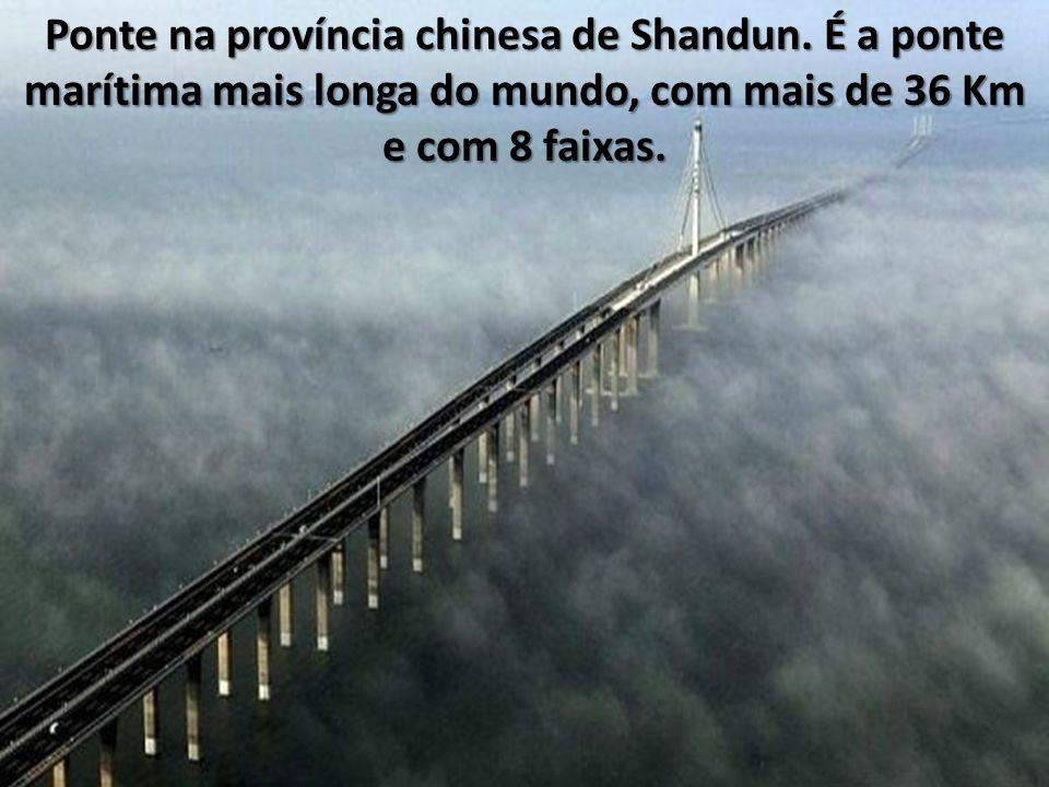 Ponte na província chinesa de Shandun