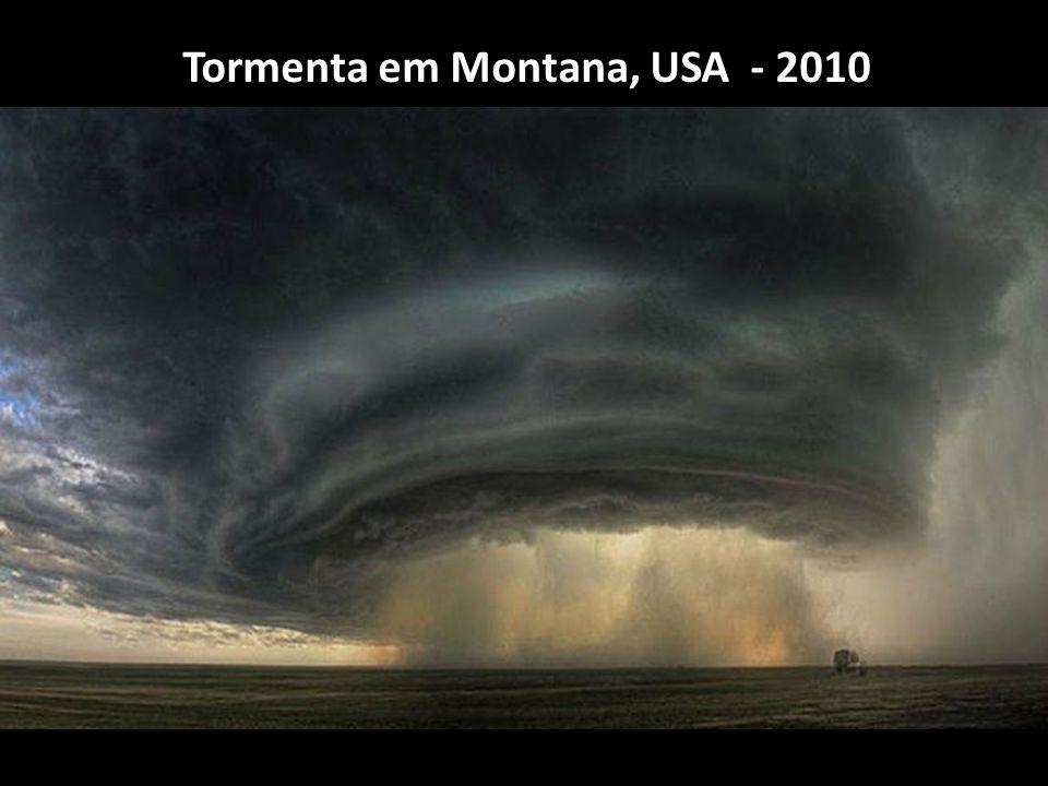 Tormenta em Montana, USA - 2010