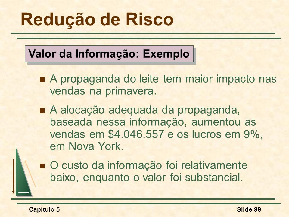 Valor da Informação: Exemplo