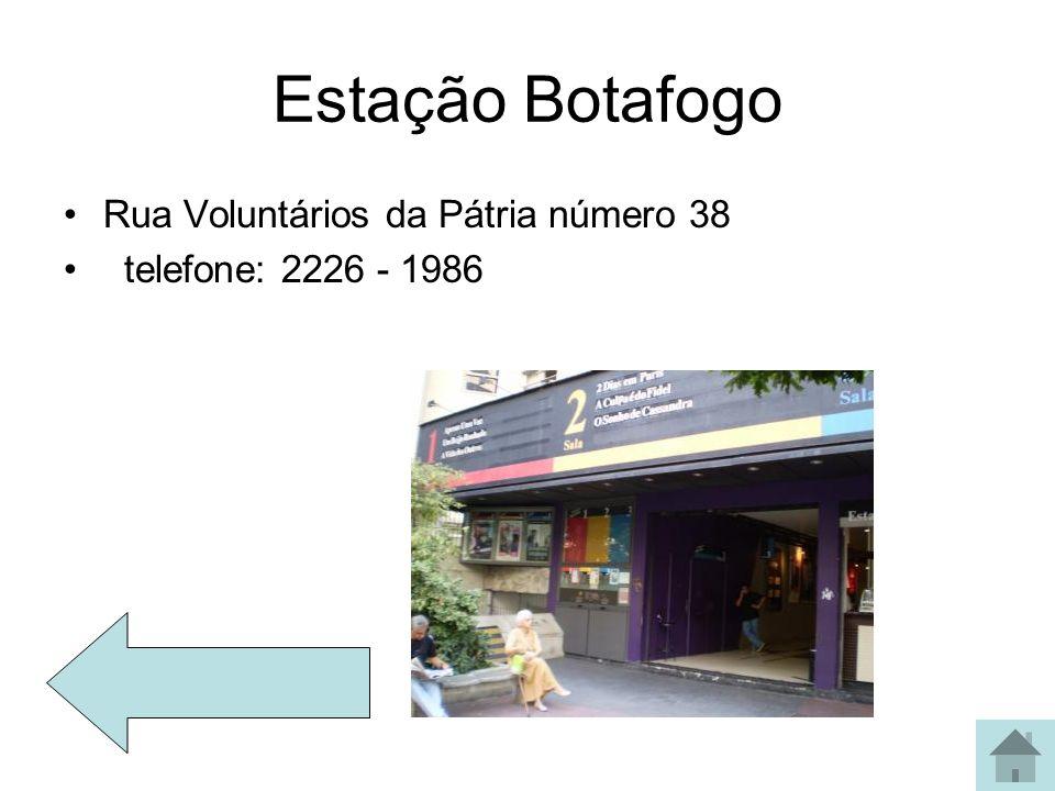 Estação Botafogo Rua Voluntários da Pátria número 38