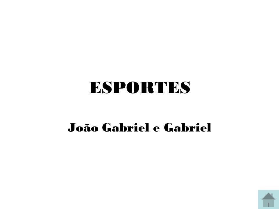 ESPORTES João Gabriel e Gabriel