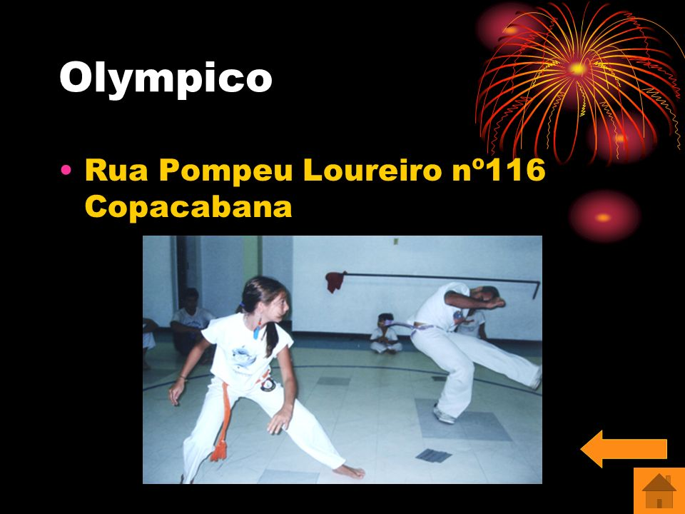 Olympico Rua Pompeu Loureiro nº116 Copacabana