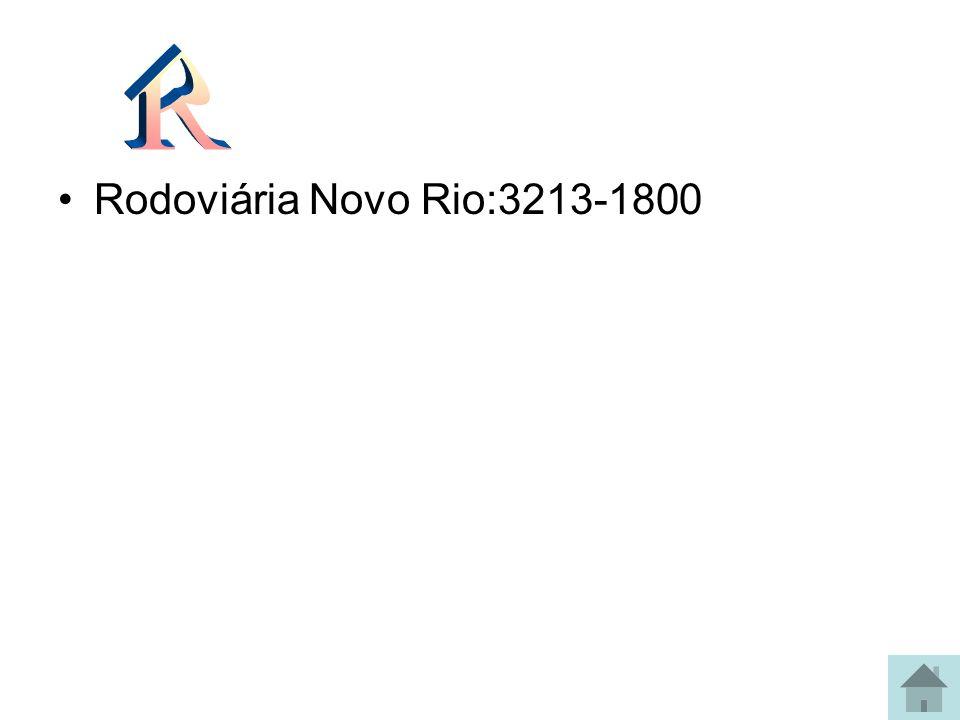 R Rodoviária Novo Rio:3213-1800
