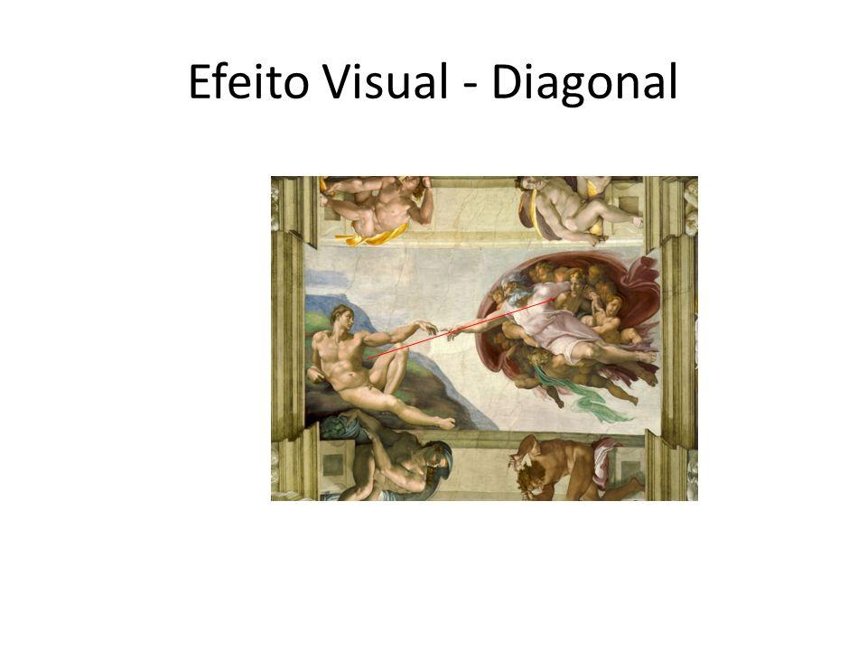 Efeito Visual - Diagonal