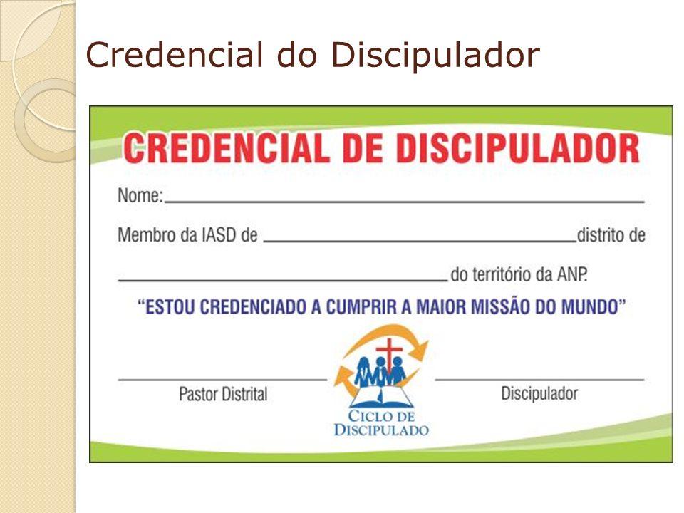 Credencial do Discipulador