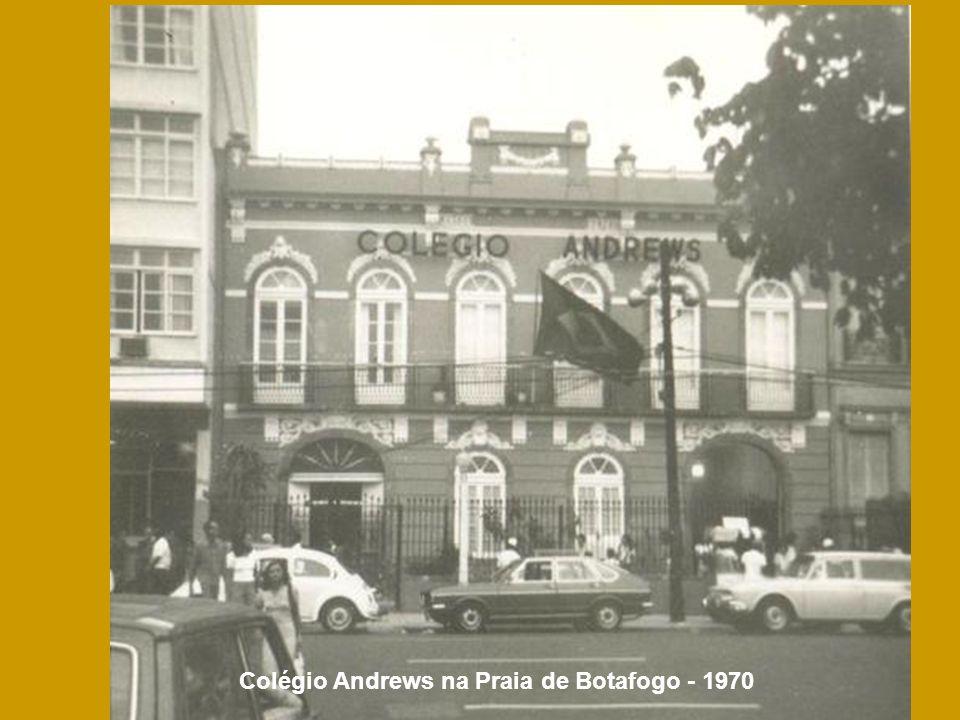 Colégio Andrews na Praia de Botafogo - 1970