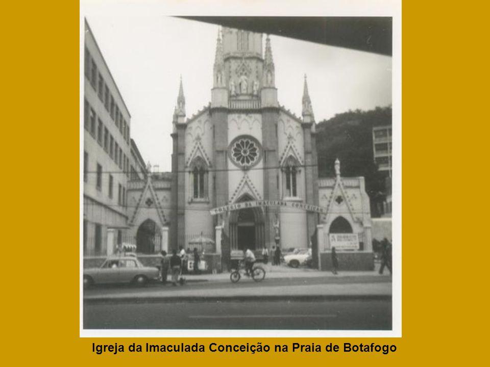 Igreja da Imaculada Conceição na Praia de Botafogo