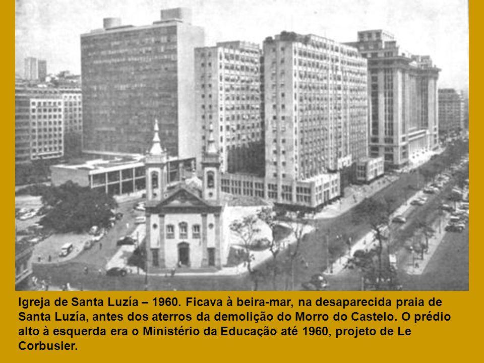 Igreja de Santa Luzía – 1960.