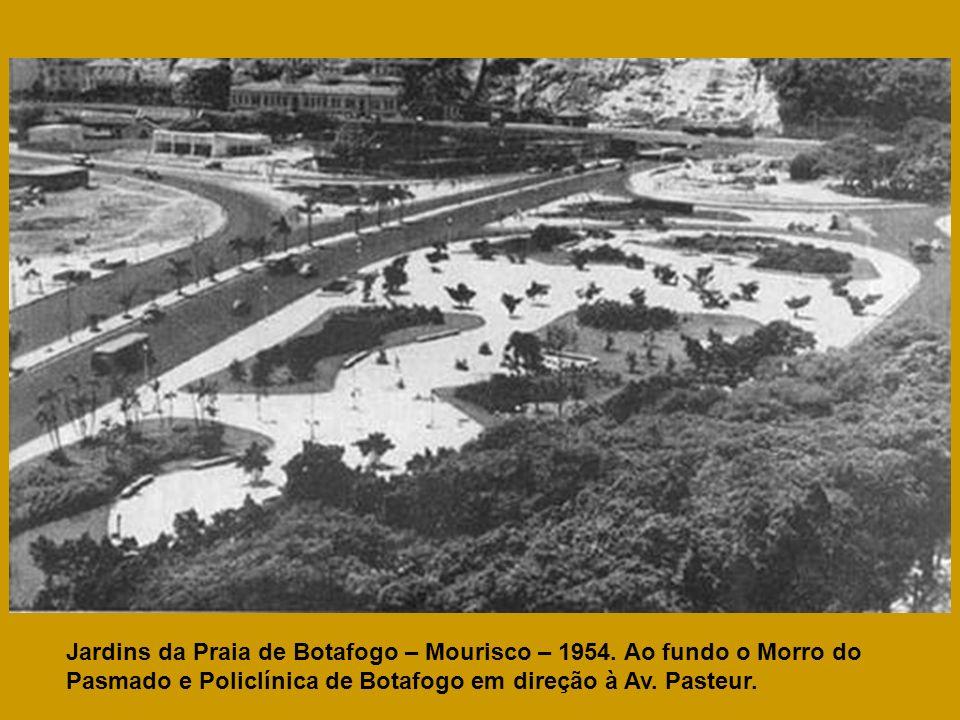 Jardins da Praia de Botafogo – Mourisco – 1954