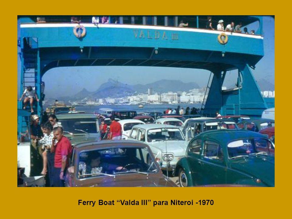 Ferry Boat Valda III para Niteroi -1970