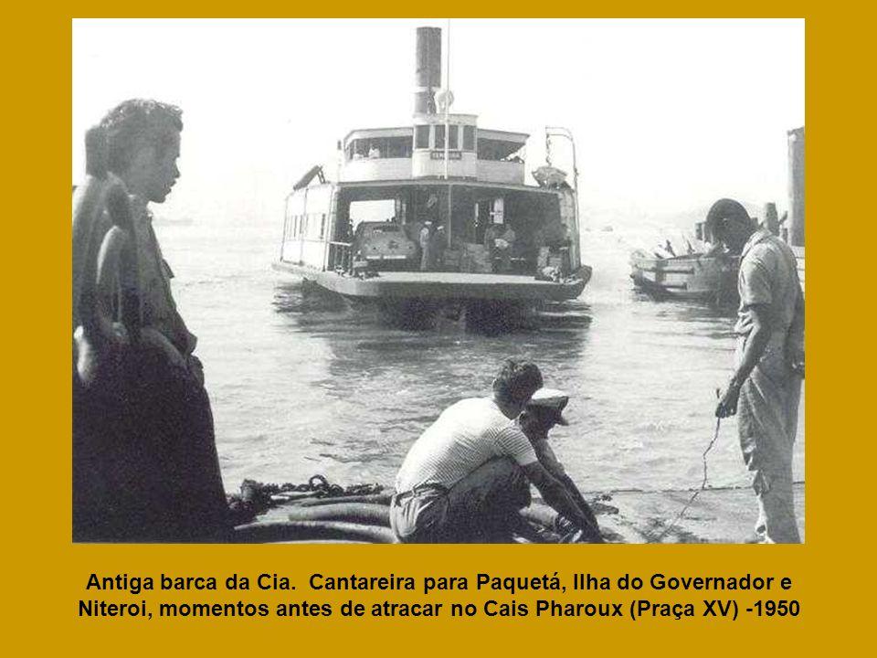 Antiga barca da Cia.