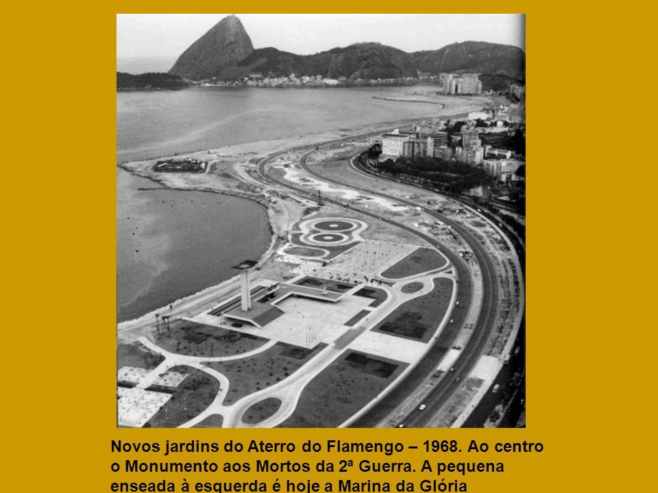 Novos jardins do Aterro do Flamengo – 1968