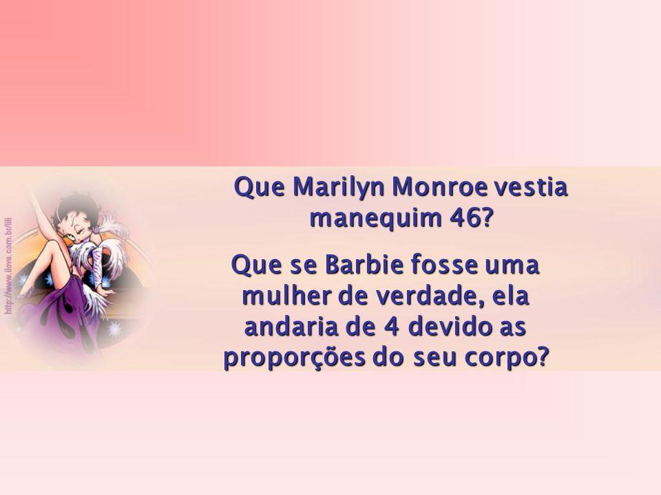 Que Marilyn Monroe vestia manequim 46