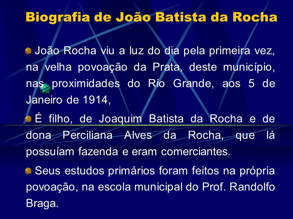Biografia de João Batista da Rocha