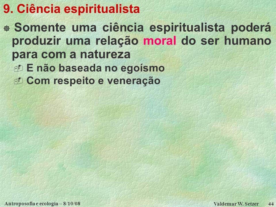 9. Ciência espiritualista