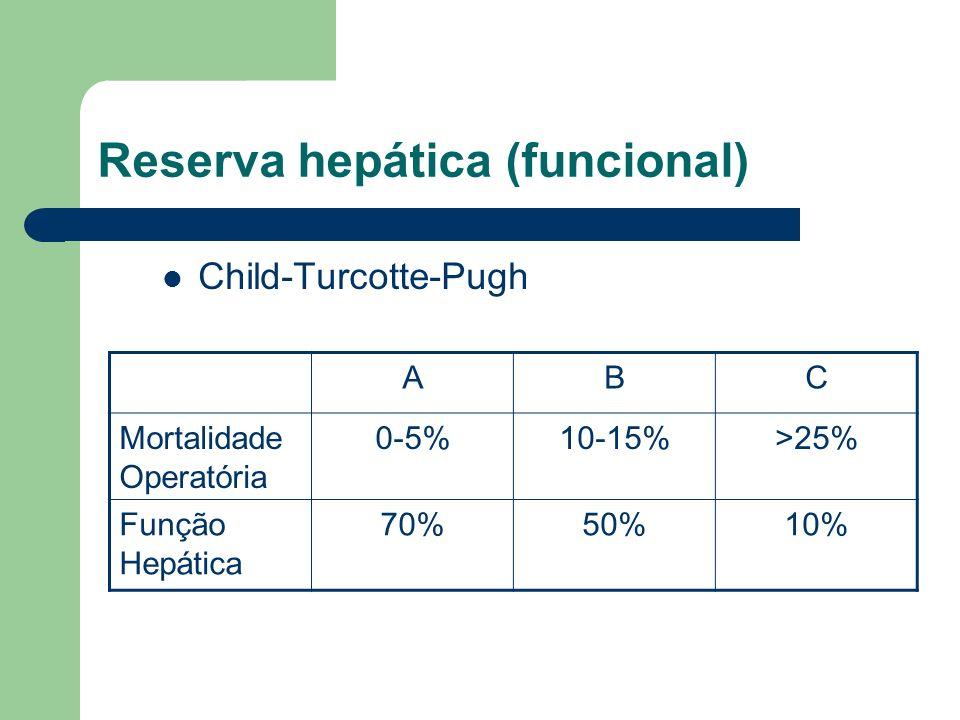 Reserva hepática (funcional)