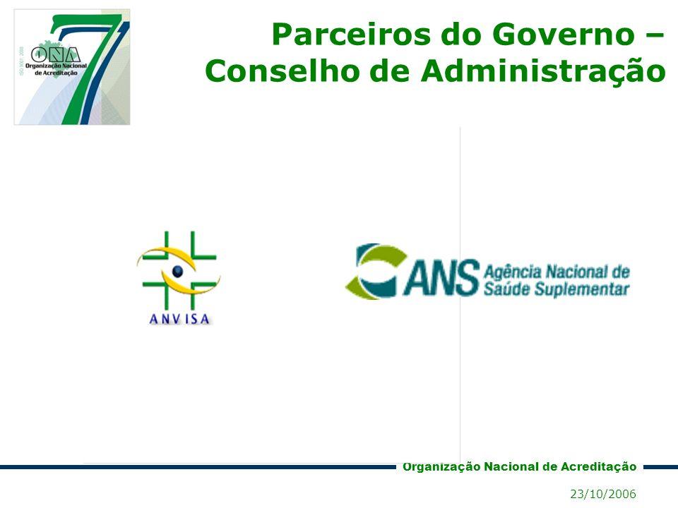 Parceiros do Governo – Conselho de Administração