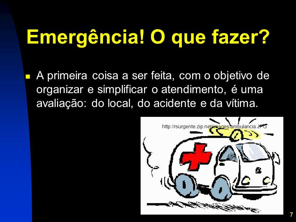 Emergência! O que fazer