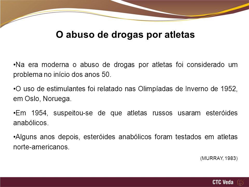 O abuso de drogas por atletas