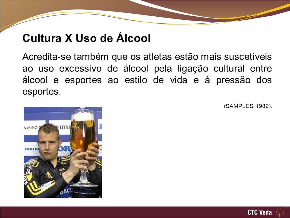 Cultura X Uso de Álcool
