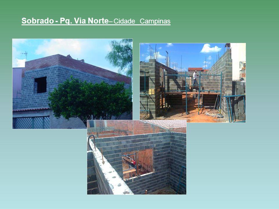 Sobrado - Pq. Via Norte– Cidade Campinas