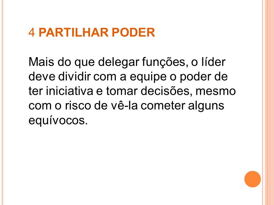 4 PARTILHAR PODER
