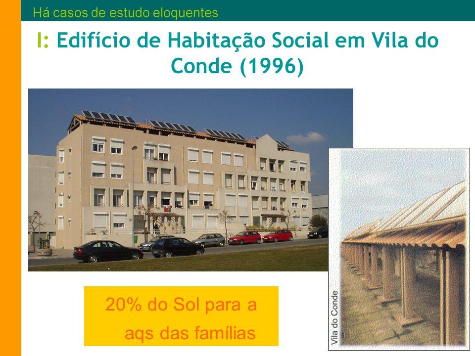 I: Edifício de Habitação Social em Vila do Conde (1996)