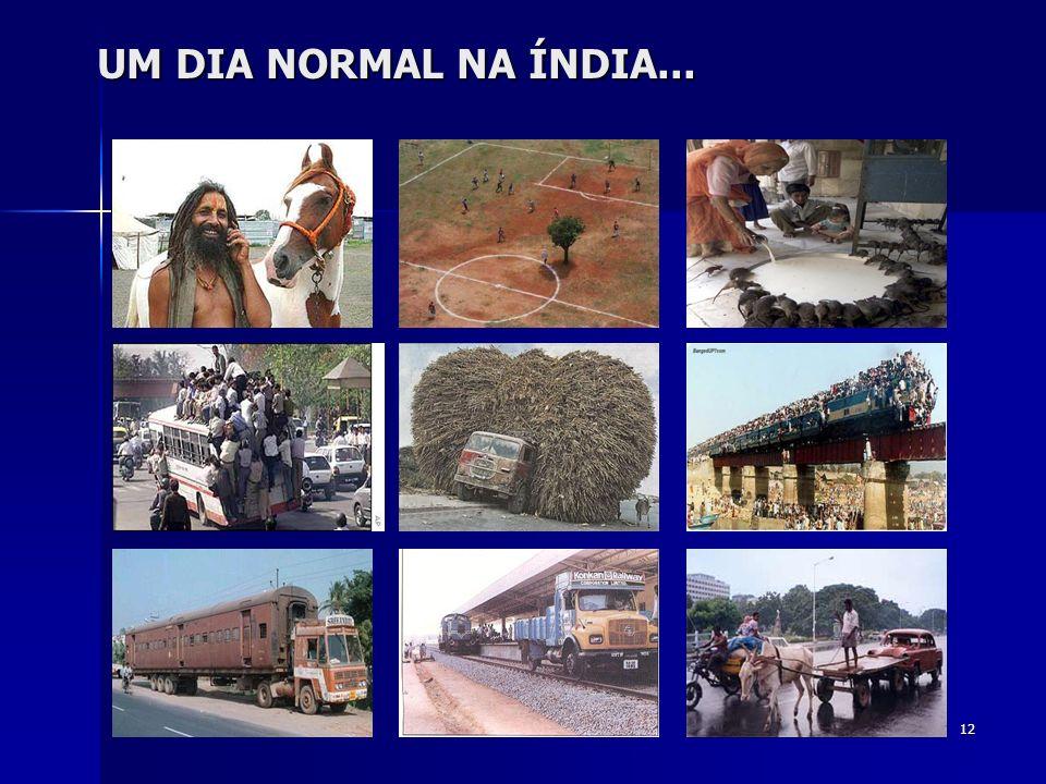 UM DIA NORMAL NA ÍNDIA...