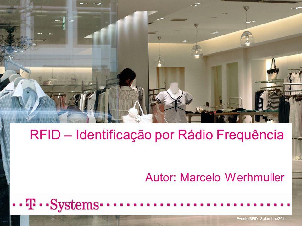 RFID – Identificação por Rádio Frequência Autor: Marcelo Werhmuller