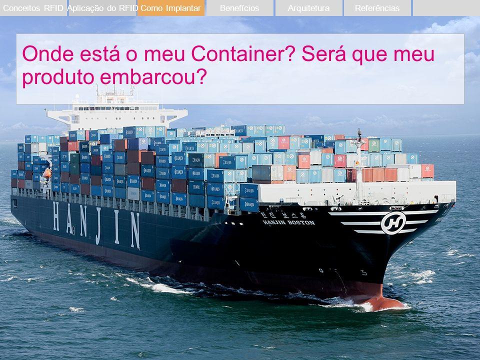 Onde está o meu Container Será que meu produto embarcou