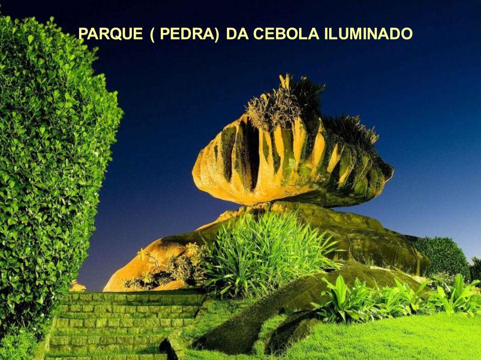 PARQUE ( PEDRA) DA CEBOLA ILUMINADO