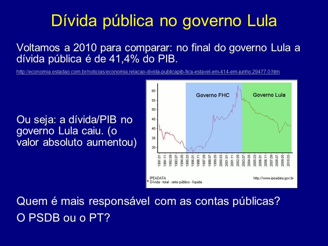 Dívida pública no governo Lula