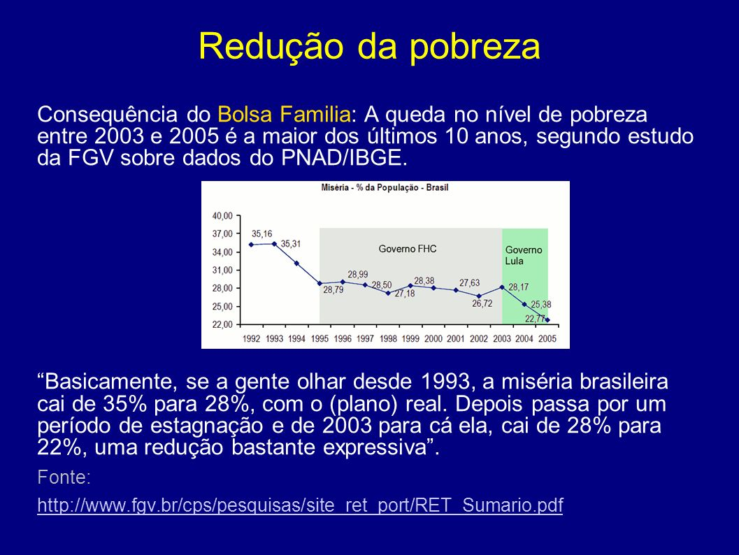 Redução da pobreza