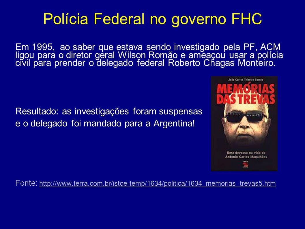 Polícia Federal no governo FHC