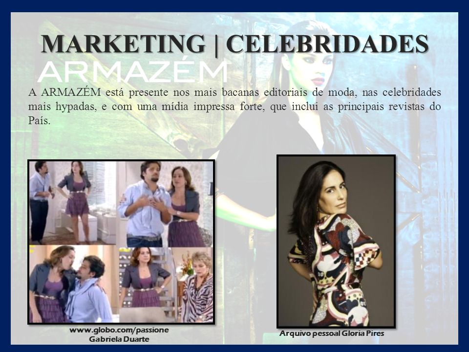 MARKETING | CELEBRIDADES