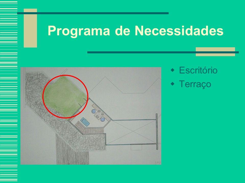 Programa de Necessidades
