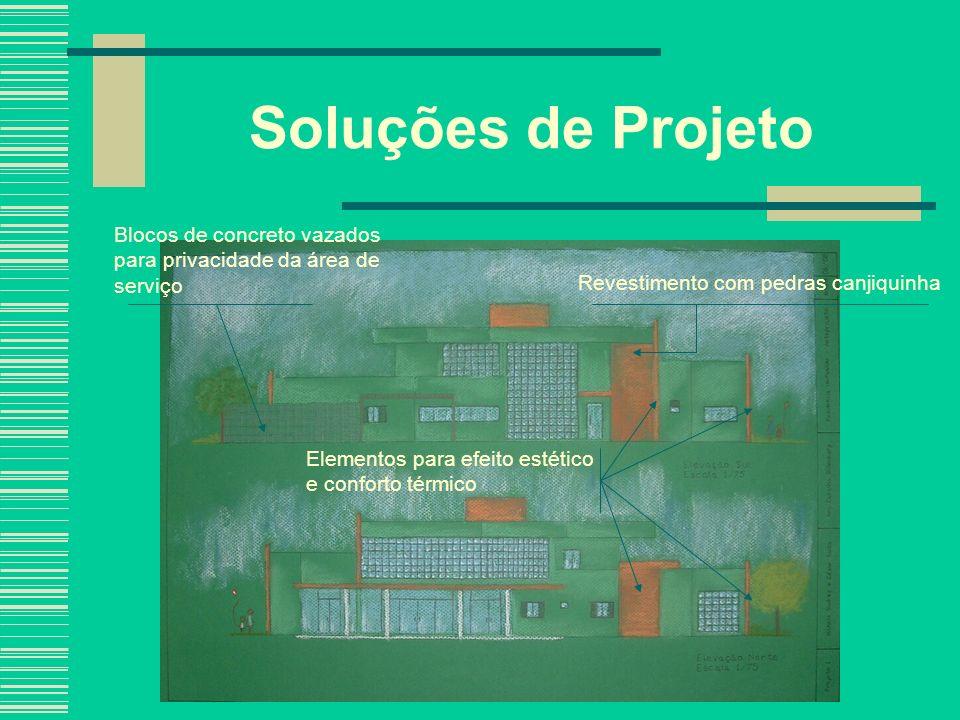 Soluções de Projeto Blocos de concreto vazados